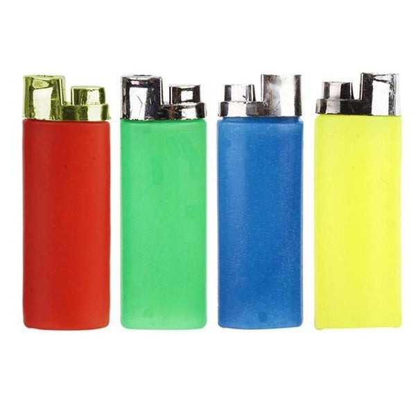 1PCS Random Color Funny Party Trick Gag Gift Water Squirting Lighter Fake Lighter Joke Prank Trick Toy ZRW5028A