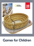 Games for children: Greek and Romans, history, mythology, ancient world