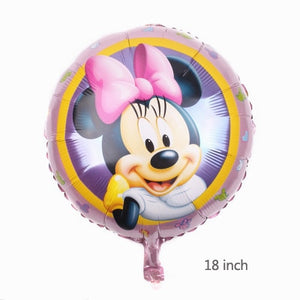 Mickey Minnie Mouse Foil Balloons