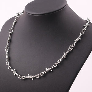 Punk Wire Brambles Necklace