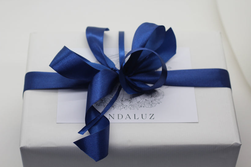 Andaluz Skincare Gift Cards and Gift Wrap