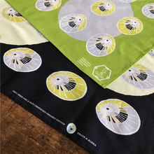 Load image into Gallery viewer, OPIHI SHELL Organic Cotton Bandana in Yellow Green