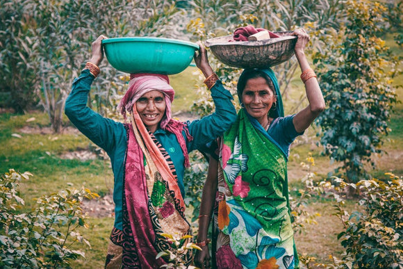 Vintage farmers from Mana Velugu Farm Organic Foods Farmers From India
