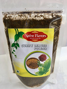 Curry Leaves Powder: 200 g Native Flavors