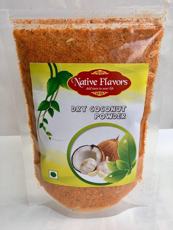 Dry Coconut & Garlic Powder - 200gm Native Flavors