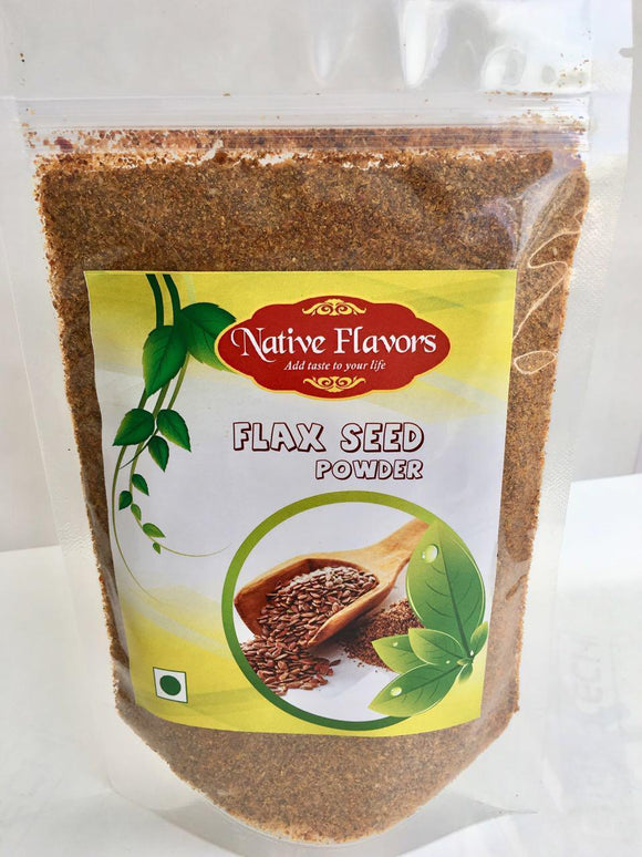 Flax Seed Powder: 200 g Native Flavors