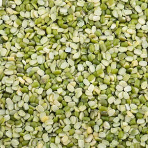Green Gram - Split Unpolished - Moong Dal: 500 g - Organic
