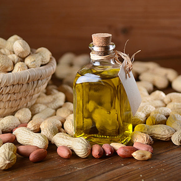 Groundnut Oil - Virgin, Cold Pressed, Natural, Unrefined - 1 Litre Nirvapate Agro PVT LTD
