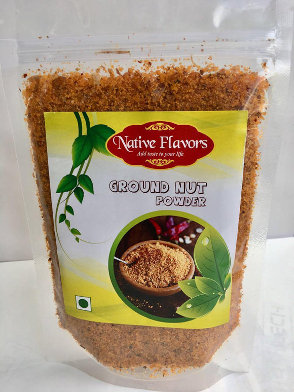Groundnut karam Powder - 200g Native Flavors