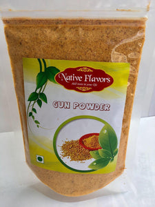 Gun Powder - Native Flavors (NET WT: 200gm) Native Flavors