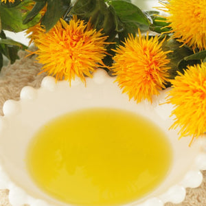 Safflower Oil - Kusuma Oil - Virgin, Cold Pressed, Natural, Unrefined - 1 Liter Nirvapate Agro PVT LTD