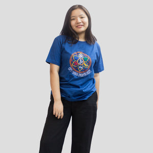 Religious Chanting Embroidered T-Shirt