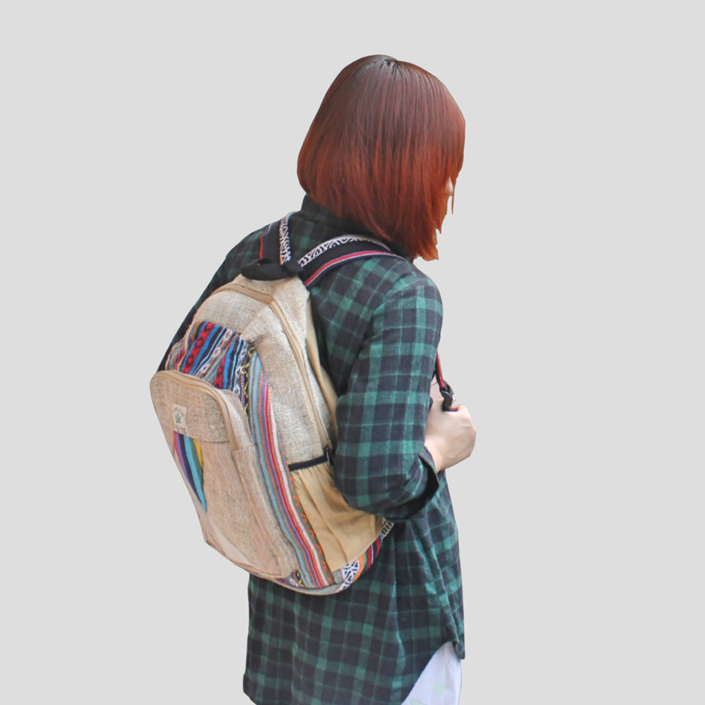 Jute Backpack - Thromsa