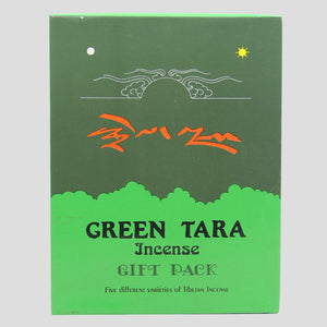 Tibetan GREEN TARA Mix Incense Gift Pack (5 Box)