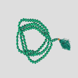 Malachite Stone Beads - Buddhism Prayer Beads