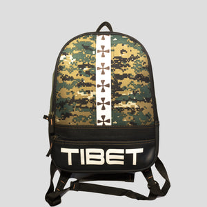 Tibet Printed Backpack