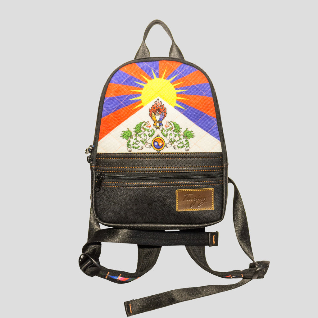 Tibetan Flag Backpack