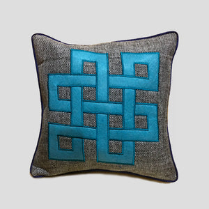Endless Knot Cushion Cover
