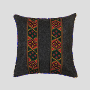 Cross Embroidered Cushion Cover