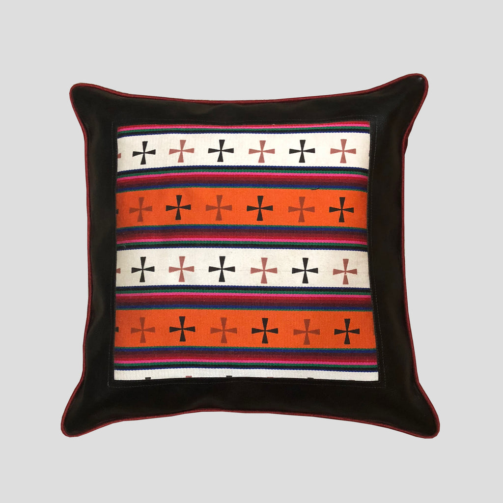 Tibetan patterned Cushion Cover
