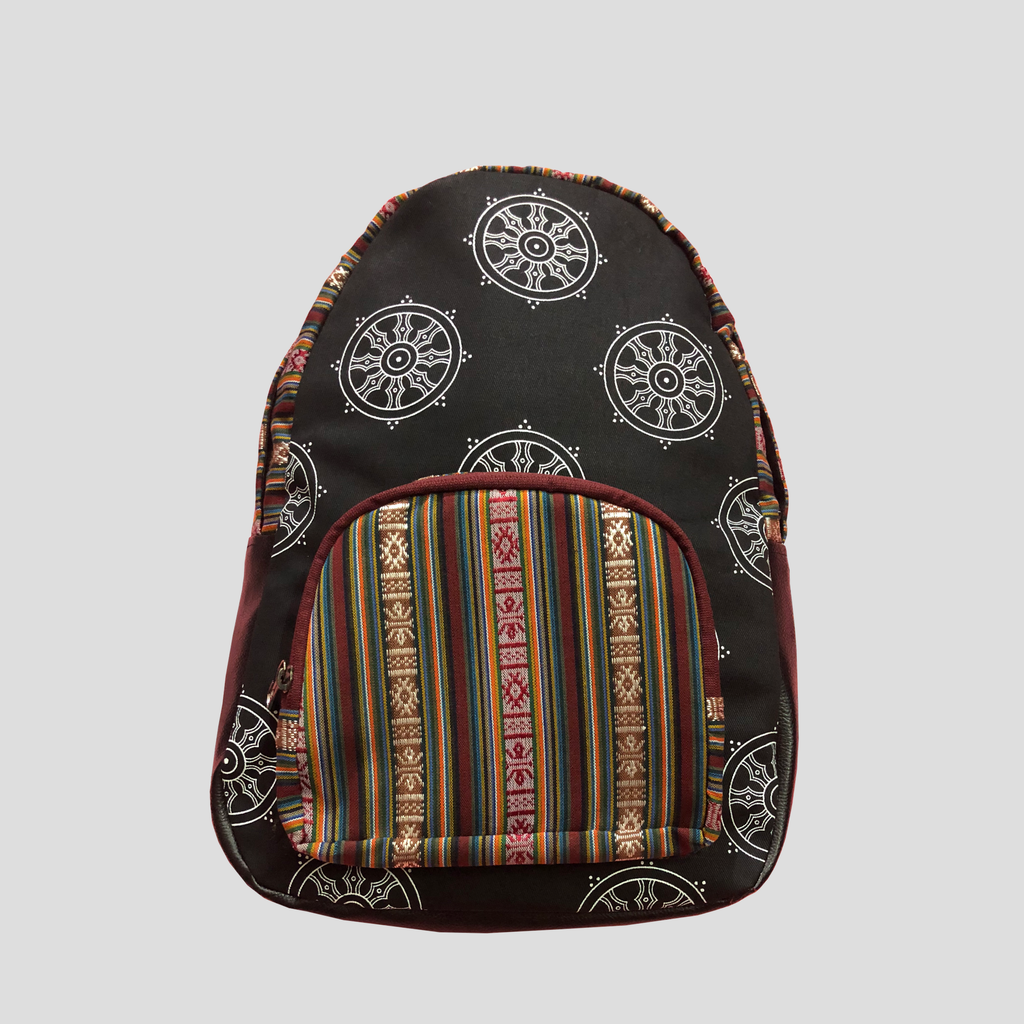 Khorlo Printed Backpack