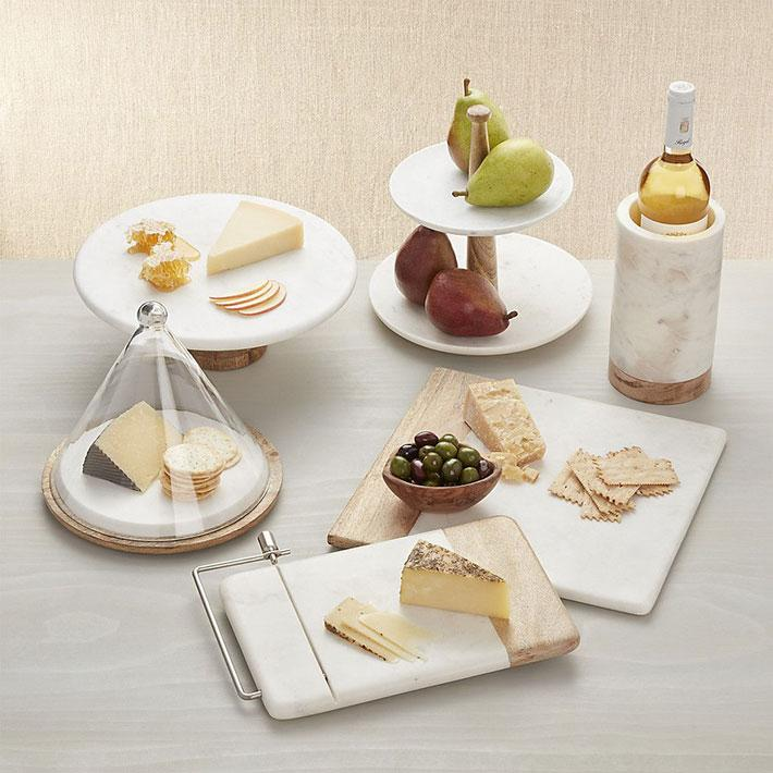 Marble Cheese Boards Wine Cooler Cake Stand Exporters from India