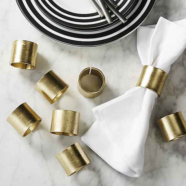 Handmade Napkin Rings From India