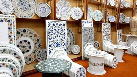 Marble Decor Trays and Plates Suppliers from India