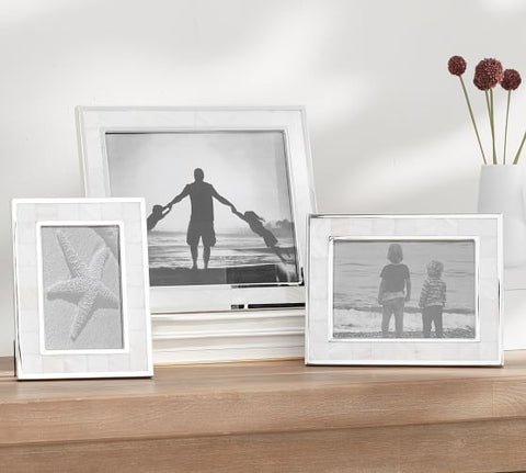 Mother of Pearls Picture Frame Set