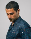 Brava Fabrics - Aloha Shirt - Hawaii Shirt for Men - 100% Organic Cotton Voile - Model Maze PAC-MAN™ x Brava
