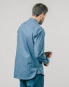 Brava Fabrics - Men's Shirt - Printed Shirt - Shirts for Men - 100% Organic Cotton - Model Windy Night