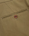 Brava Fabrics - Pleated Chino Pants - Chino Pants for Men - 100% Organic Cotton - Model Chino Camel