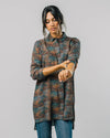 Brava Fabrics - Printed Dress - Shirt Dress for Women - 100% Eco Vero Viscose - Model Ocean Fish