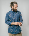 Brava Fabrics - Men's Shirt - Men's Casual Shirt - Men's Shirt - 100% Cotton - Model Fox In The Snow