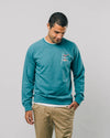 Brava Fabrics - Mens Sweatshirt - Sweatshirt for Men - 100% Organic Cotton - Model Koinobori Kite