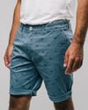 Brava Fabrics - Shorts - Printed Shorts - Short Pants for Men - 100% Organic Cotton - Model Japanese Sky