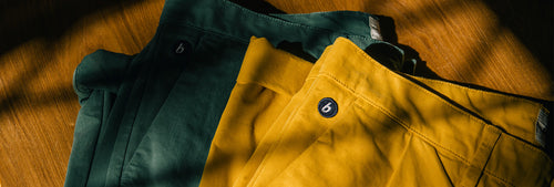 Green and yello high-quality & modern Chino Pants for Men