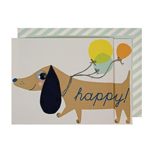 Happy Dog Card