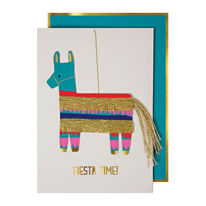 Colourful Piñata <br> Fiesta Card