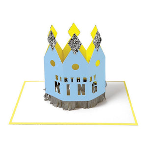 Birthday King <br> Wearable Crown