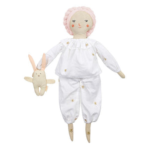 Pyjamas and Bunny Dolly Dress Up