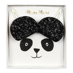 Panda Ears <br> Hair Clips