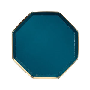 Dark Teal Side Plates (8)