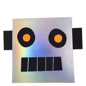 Robot Stickers and Sketch Book