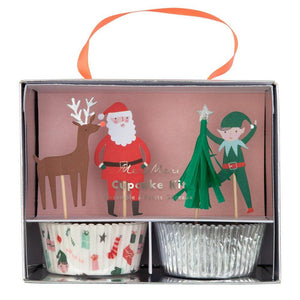 Christmas Icons Cupcake Kit