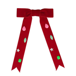 Red Bow <br> Hair Clip