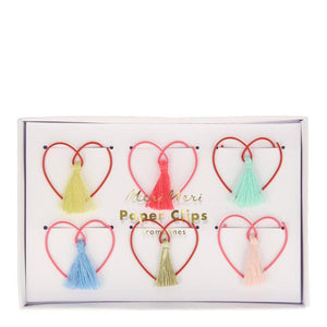Heart Shaped <br> Paper Clips