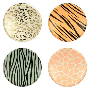 Safari Animal Print Dinner Plates (8)