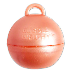 35g Rose Gold Bubble Weight