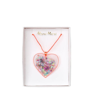 Meri Meri <br> Heart Shaker Necklace